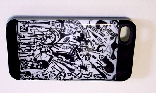 Chasing the Sound iphone4 Hard Case