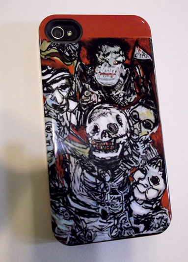 Ghouls Night Out iphone4 Hard Case